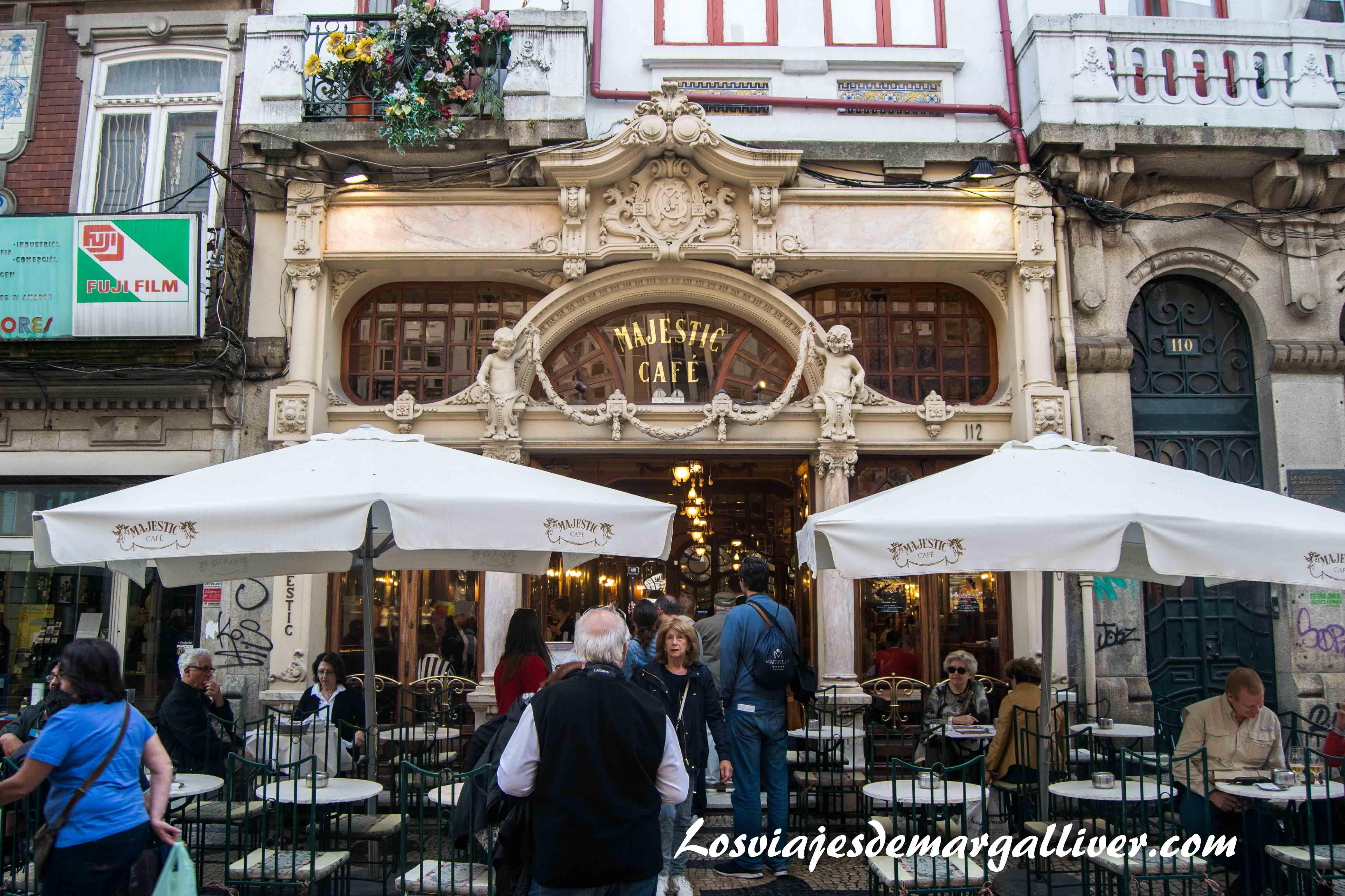 Cafe Majesctic en Oporto - Los viajes de Margalliver que ver en Oporto